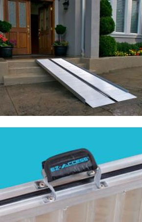 EZ-ACCESS Suitcase Ramp Signature Series by Access Options Inc - Portable Wheelchair Ramp Fremont