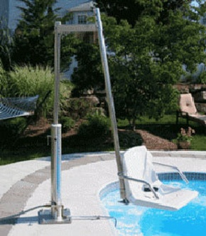 Aquatic Access Inc. Lifts For In-Ground Pools - IGRC Pool Lift San Jose by Access Options Inc