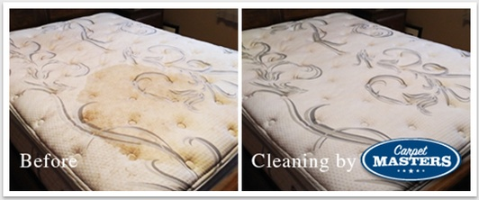 Before and After Mattress Cleaning Services Cambridge by Carpet Masters