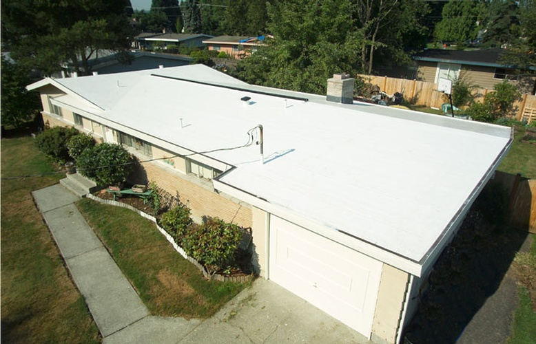 PVC Flat Roofing Services by Bellevue Roofing Company, Inc