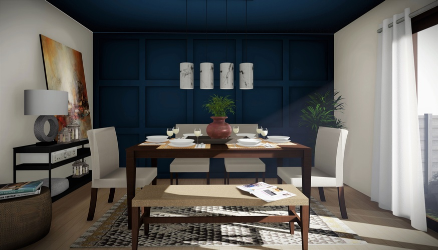 Sea Facing Living Room Design by Robinson Design and Drafting - Interior 3D Rendering London ON