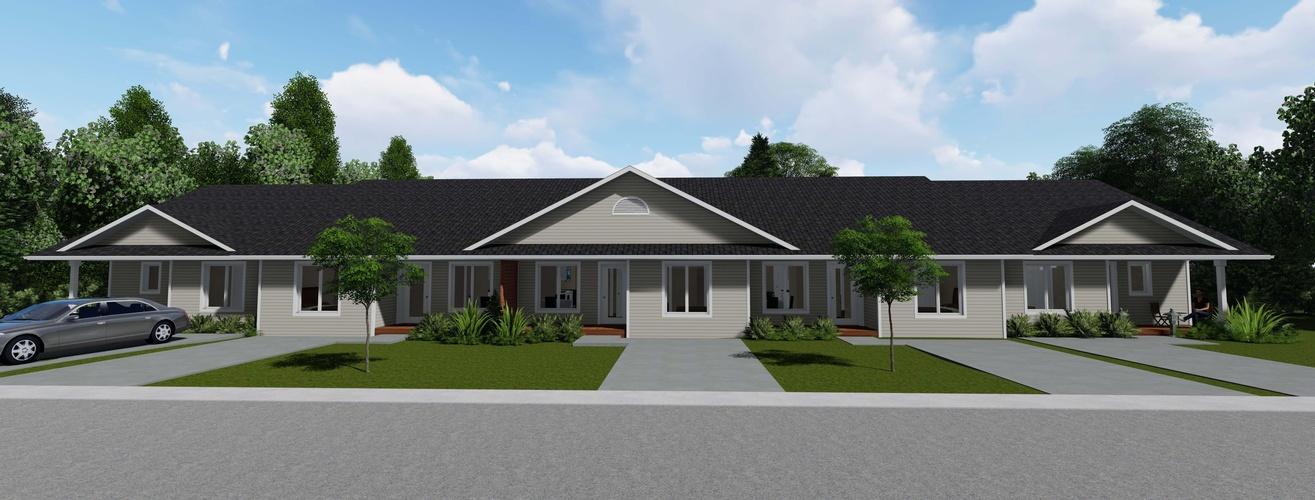 Row Bungalow Architectural Design Services London by Robinson Design and Drafting