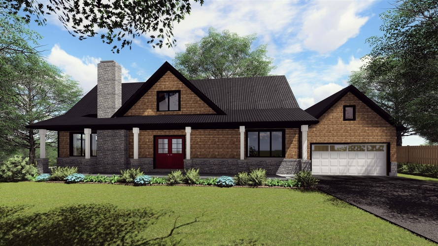 Architectural Design of a Bungalow by Robinson Design and Drafting - Architectural Designers Sarnia