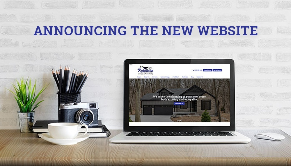 Announcing The New Website - Robinson Design and Drafting