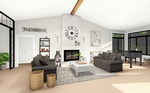 Living Room architectural Design Services by Robinson Design and Drafting - Architectural Designers Sarnia