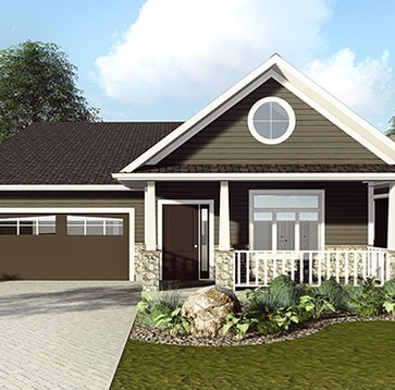 3D Exterior Rendering Ontario by Robinson Design and Drafting