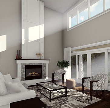 3D Interior Architectural Rendering by Robinson Design and Drafting
