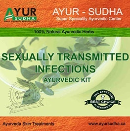Ayurvedic Kit for Sexually Transmitted Infections by AYUR-SUDHA - Ayurvedic Medicine Oakville