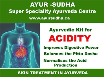 Ayurvedic Kit for Acidity by AYUR-SUDHA - Ayurvedic Medicine Toronto