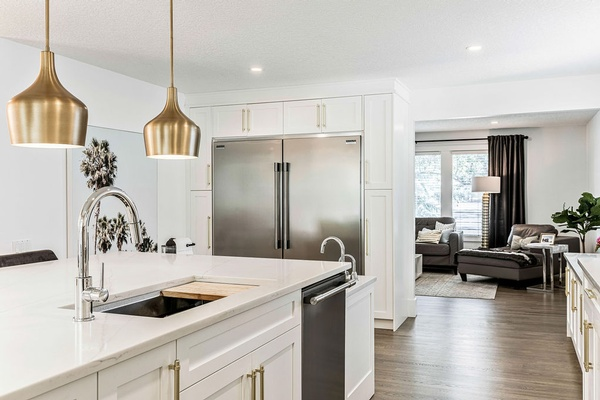 Open Concept Kitchen Interior Design by Dayle Sheehan Interior Design Inc. - Interior Design Firm Calgary