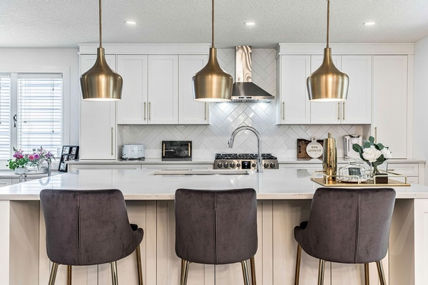 Contemporary Kitchen Interior Design Services by Dayle Sheehan Interior Design Inc. - Interior Design Firm Calgary