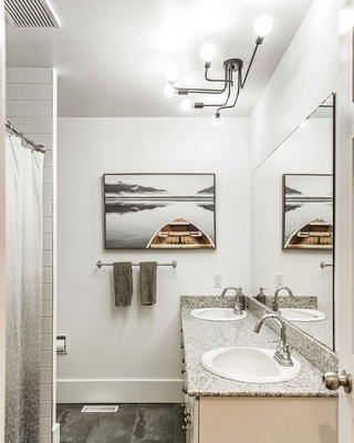 Contemporary Bathroom Interior Design Services by Dayle Sheehan Interior Design Inc. - Interior Design Firm Calgary
