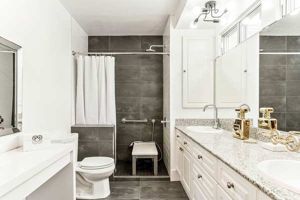 Luxury Bathroom Vanity by Dayle Sheehan Interior Design Inc. - Interior Designer Kelowna