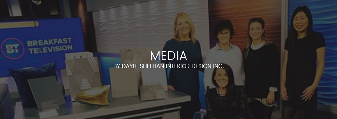 Media by Dayle Sheehan Interior Design Inc.