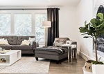 Modern Living Room by Calgary Interior Designer at Dayle Sheehan Interior Design Inc.