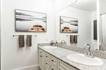 Modern Bathroom Vanity - Interior Design Services Calgary by Dayle Sheehan Interior Design Inc.