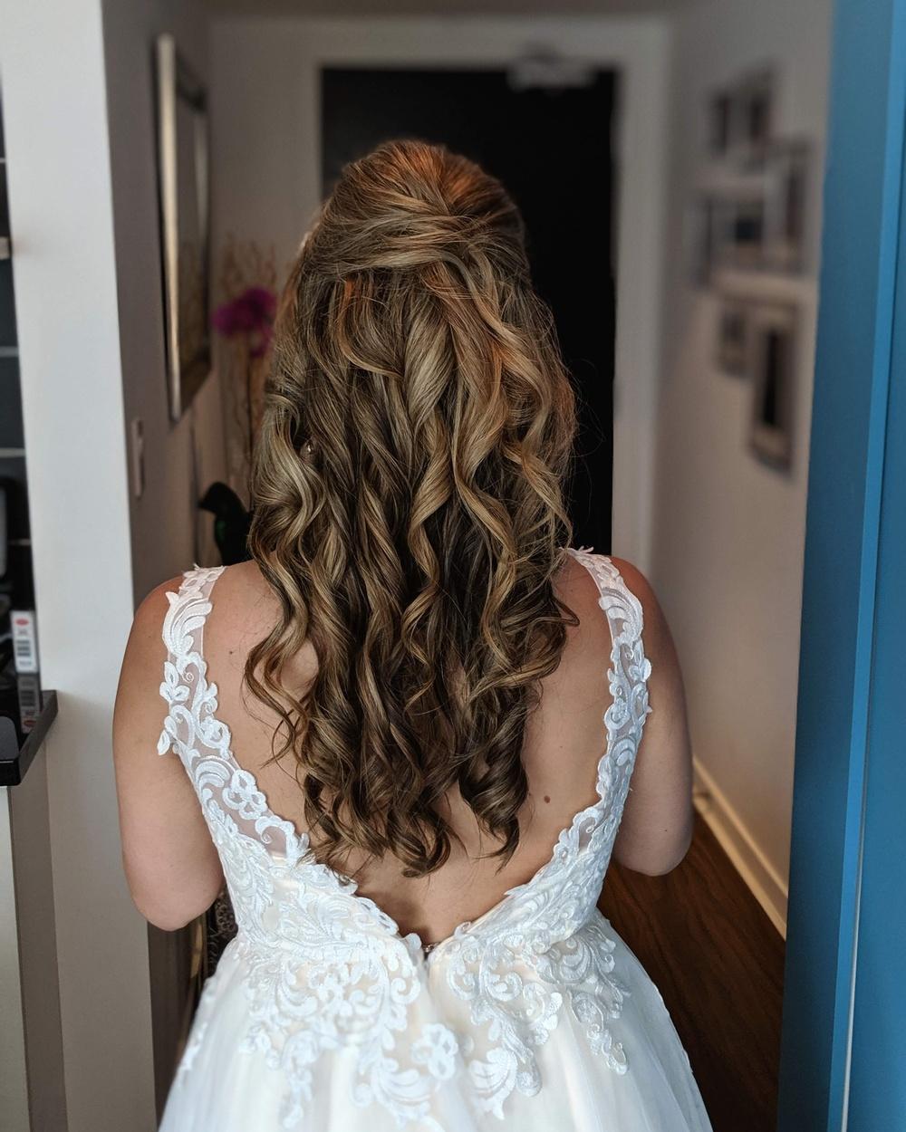 Toronto Wedding Hair Hairstyle
