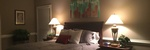 Bedroom with Rich Interiors - Interior Decorator Alpharetta at Sage Key Interiors