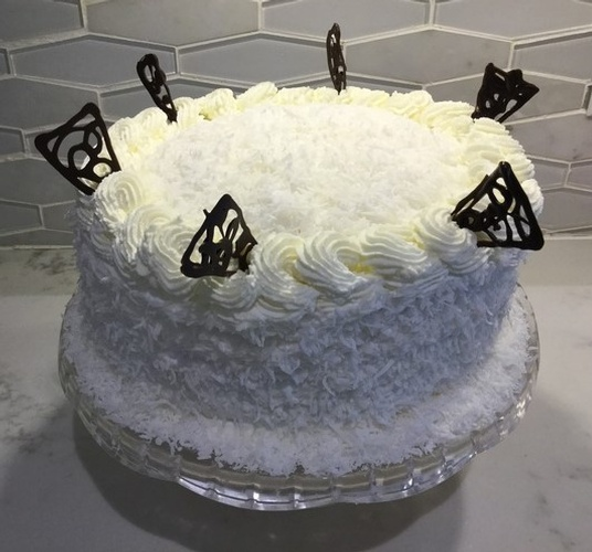 Coconut Cake GTA at Anna Maria's Cakes And Puffs