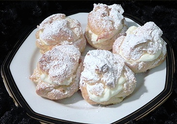 Frozen Puffs - Cream Puffs Gormley at Anna Maria's Cakes And Puffs