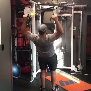 Pull Ups Workout Session at Bar None Fitness Studio in Burlington