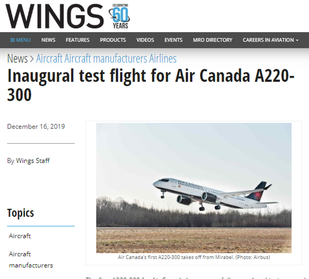 Inaugural test flight for Air Canada A220-300 - www wingsmagazine com.png