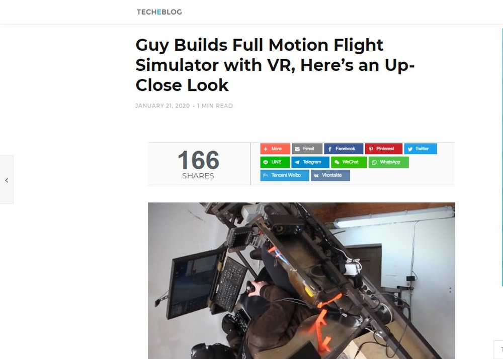 Guy Builds Full Motion Flight Simulator with VR  Here's an Up-Close Look – TechEBlog.jpg