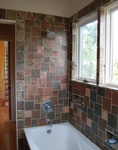 Bright Bathroom - Residential Construction Kinney Ave, Austin TX by PB Construction