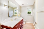 Lit Bathroom - Residential Construction Austin by PB Construction