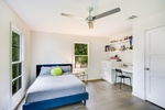 Cozy Bedroom - Residential Construction Austin by PB Construction