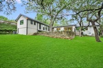 Green Backyard Lawn - Residential Construction Austin TX by PB Construction