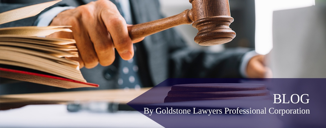 Blog by Goldstone Lawyers Professional Corporation