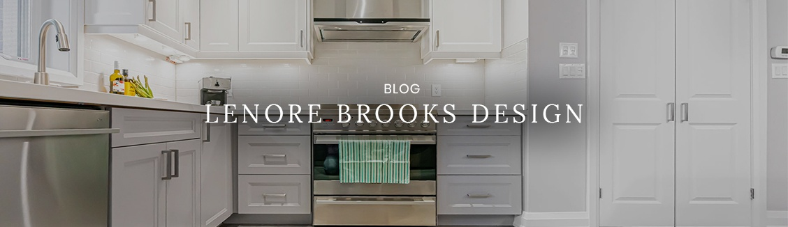 Blog by Lenore Brooks Design