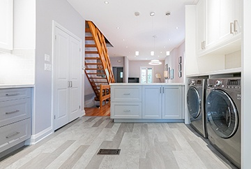 Laundry Room - Home Interior Design Kitchener by Lenore Brooks Design