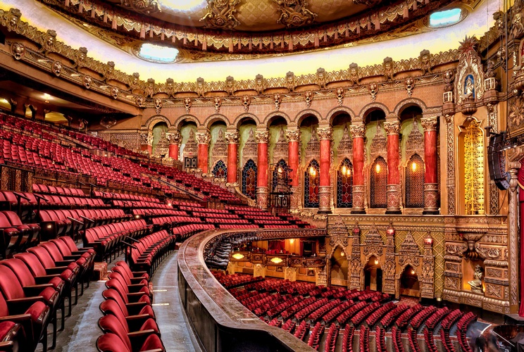 Royal Theatre Interiors  - Interior Photography St. Louis MO by Coblitz Photographic Arts
