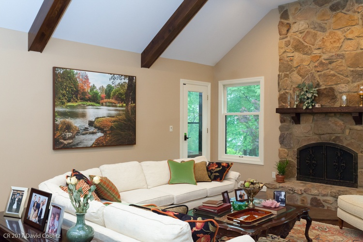 Furnished Living Room - Interior Photography Maryland Heights by Coblitz Photographic Arts