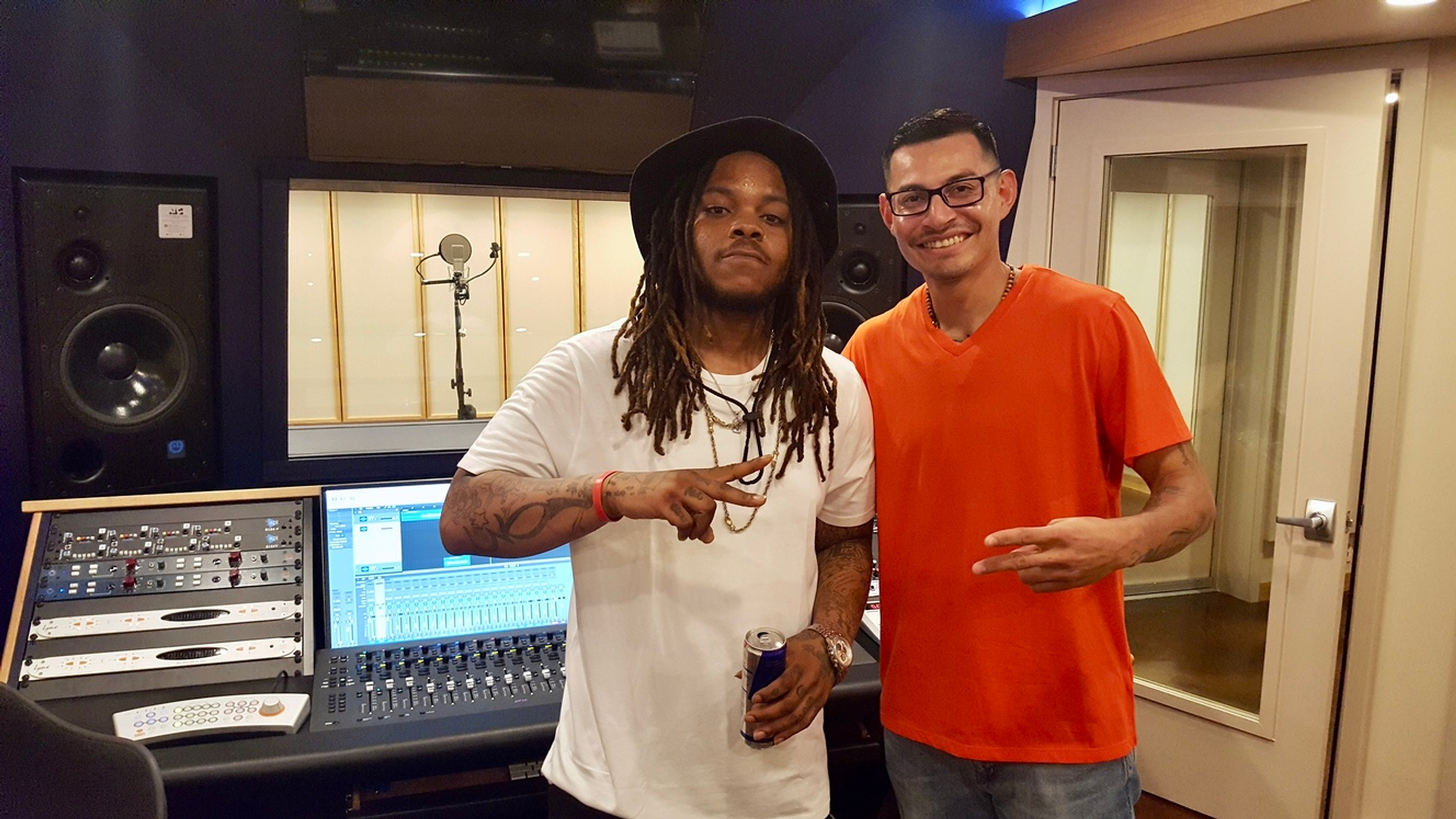 Trill with Mgr Eder Martinez Captured at Recording Studio DC - Innovation Station Music
