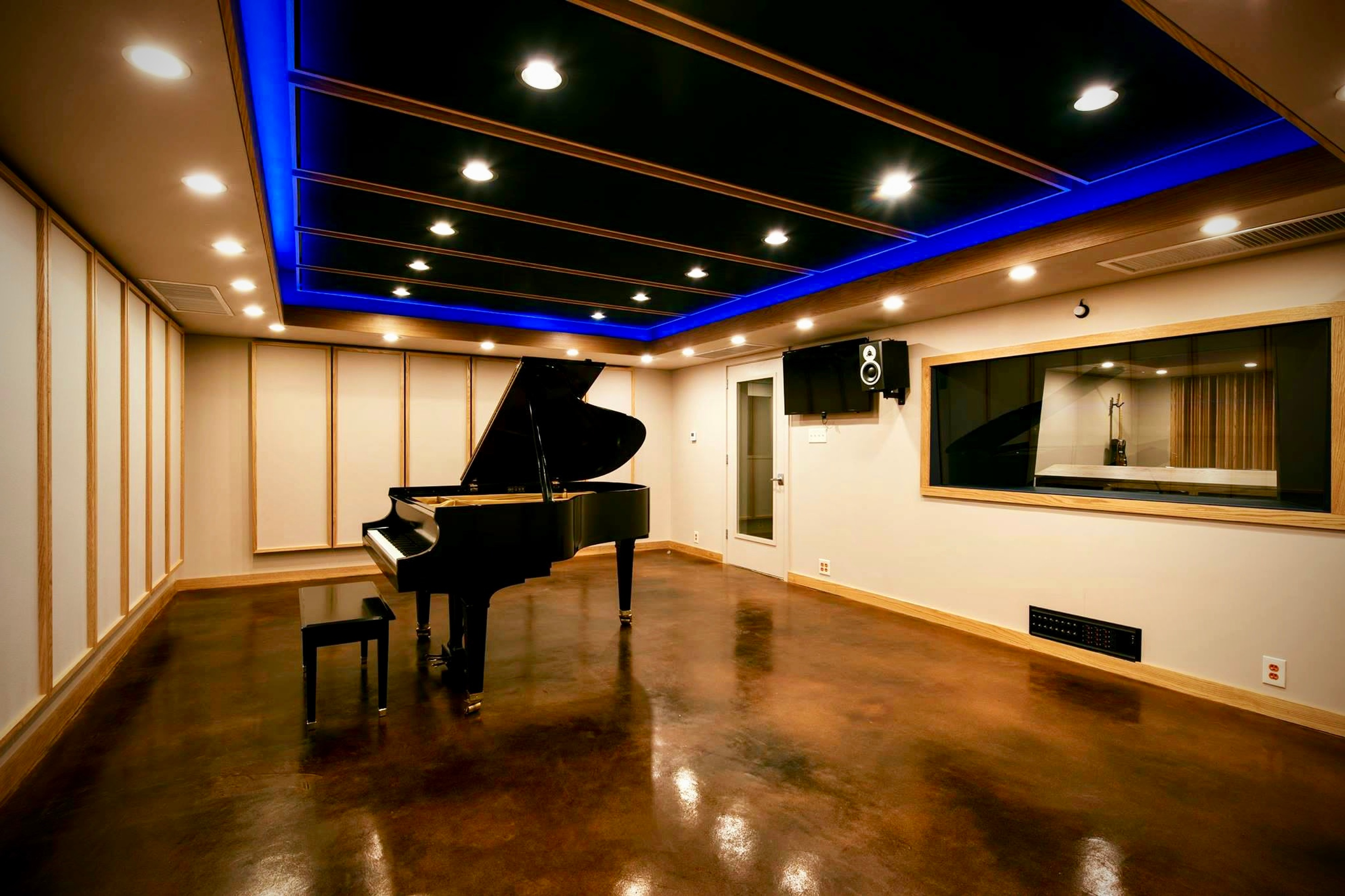 Studio A Tracking Room - Music Production Charlottesville by Innovation Station Music