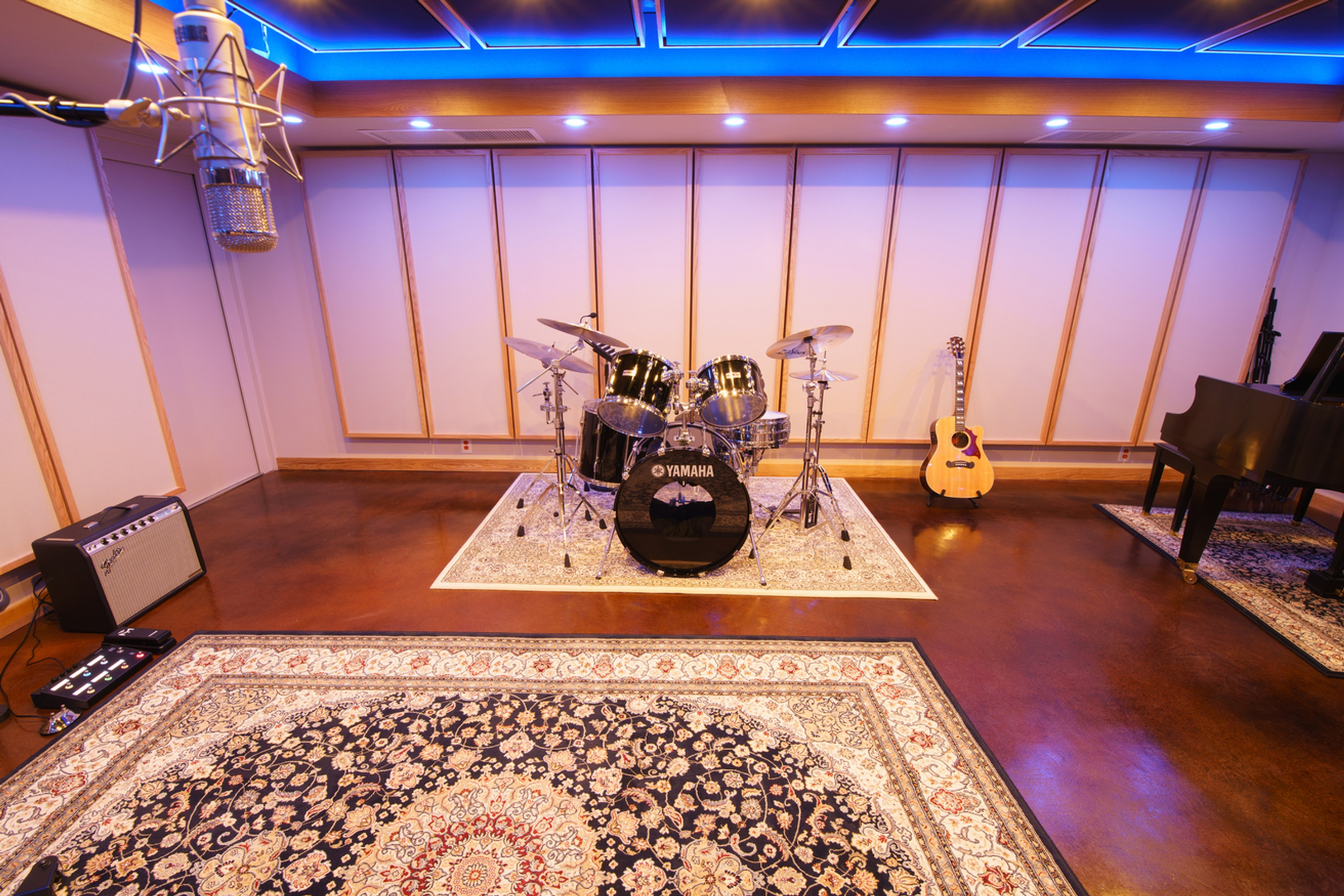Studio A Tracking Room - Music Production Company Annandale - Innovation Station Music
