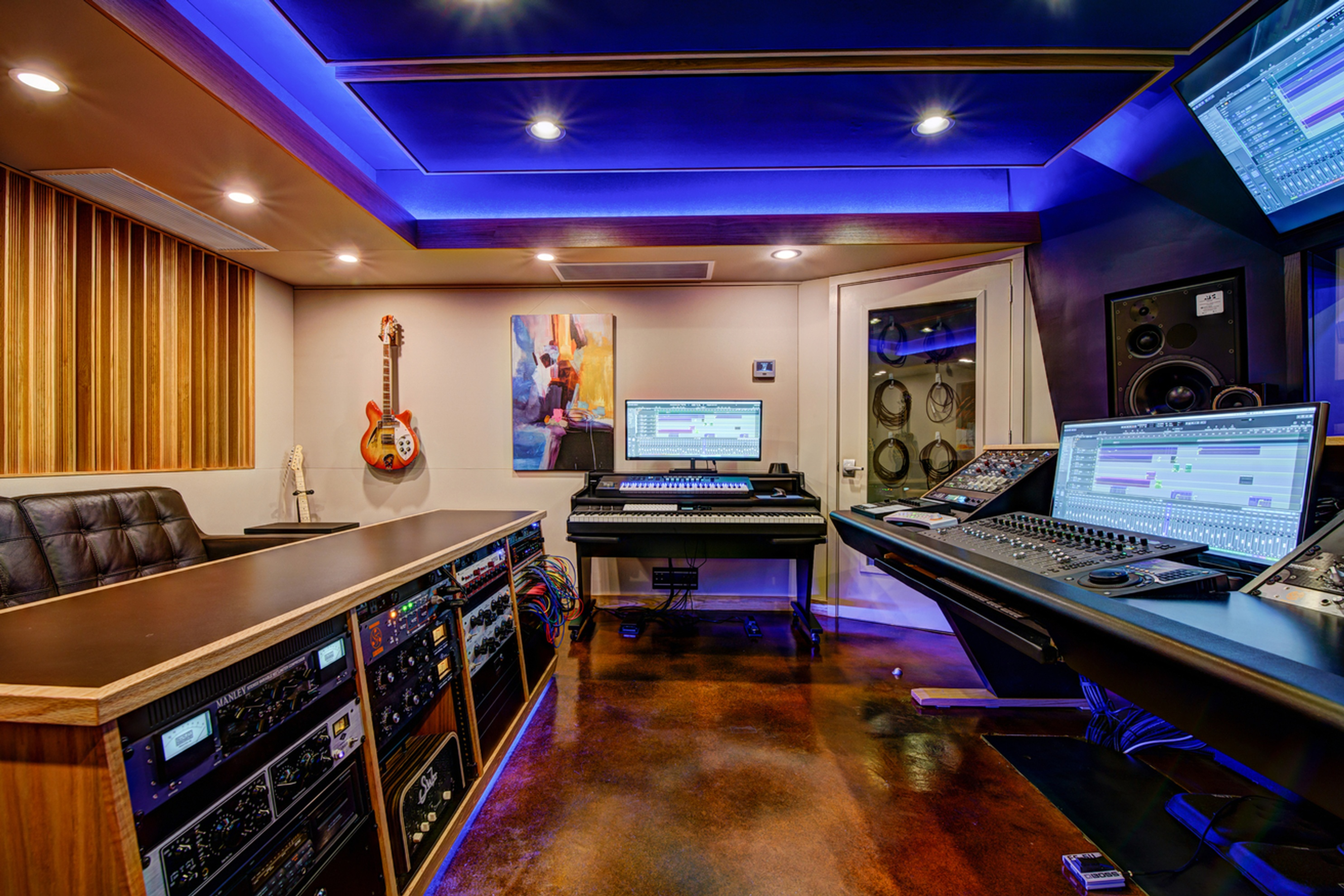 Control Room A Side - Innovation Station Music - Music Production Company Annandale