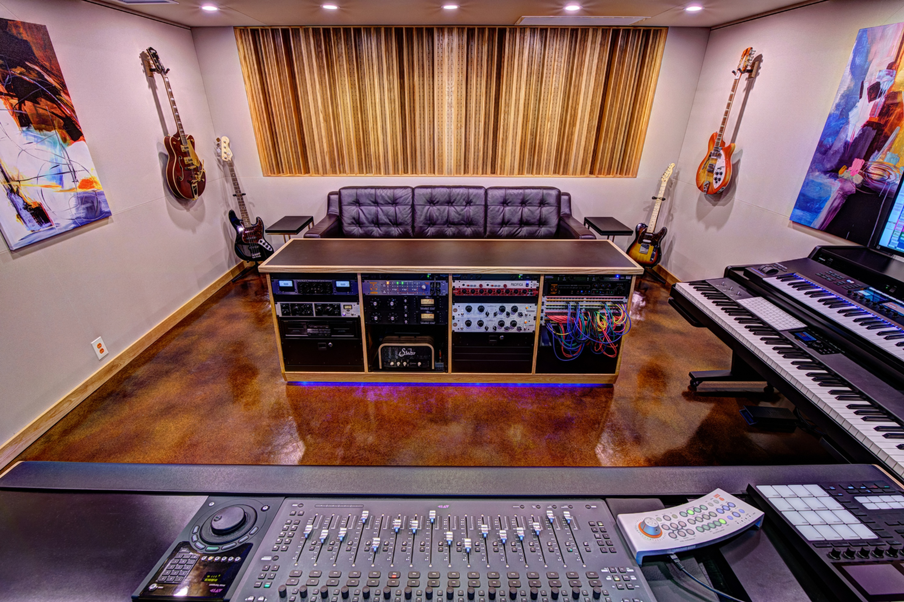 Control Room A Rear - Music Production Company Annandale by Innovation Station Music