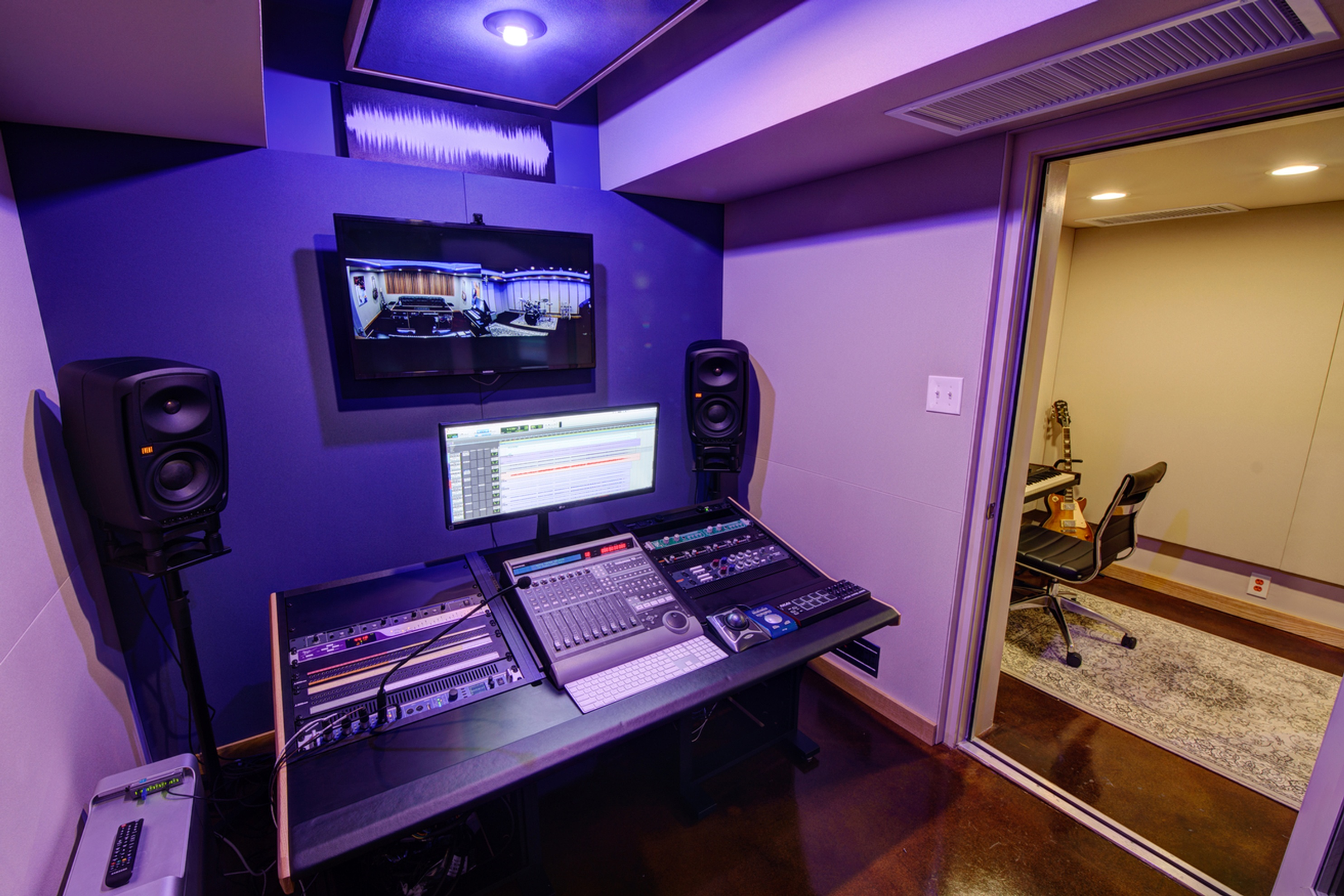 B Suite by Innovation Station Music - Best Recording Studio Northern VA