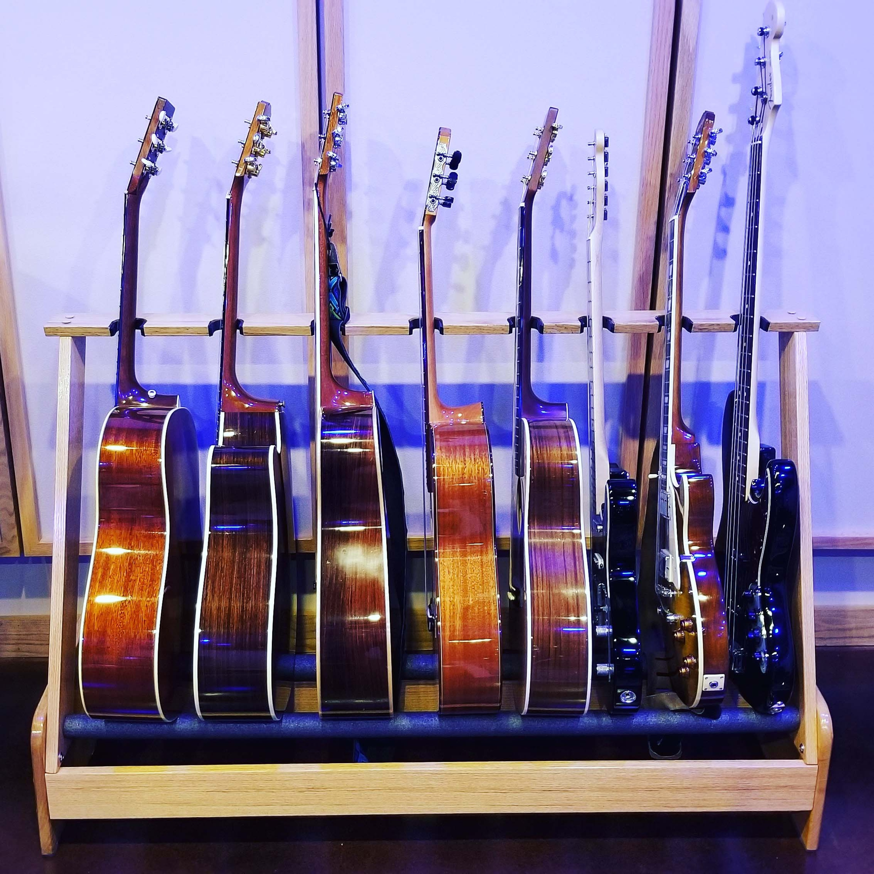 Guitar Rack - Music Recording Studio DC - Innovation Station Music