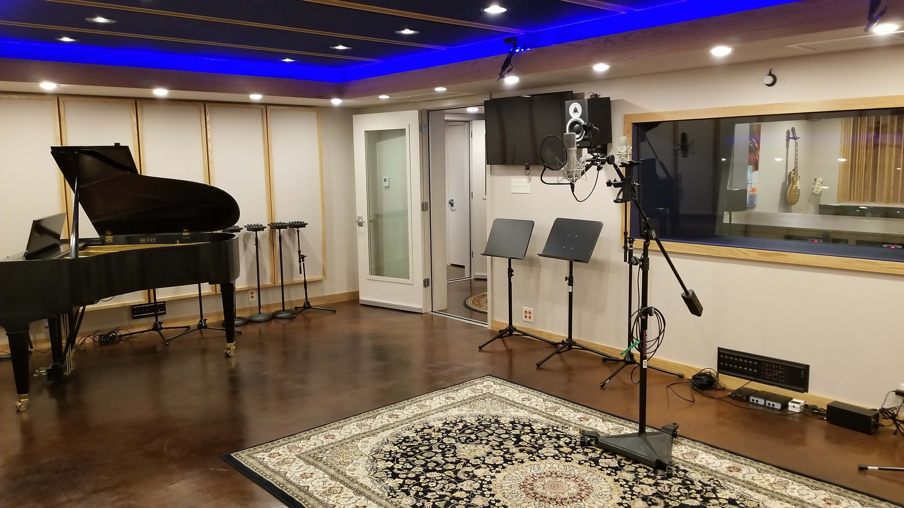 Tracking Room 2018 - Music Production Company Annandale - Innovation Station Music