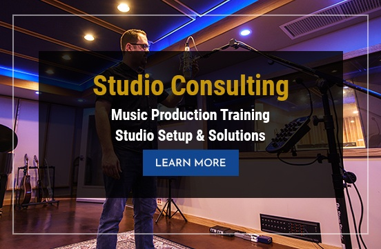 Studio Consulting - Music Production Training Studio Setup and Solutions