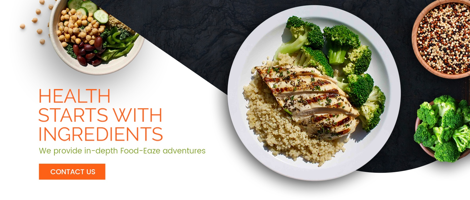 Health Starts With Ingredients - We provide in-depth Food-Eaze adventures