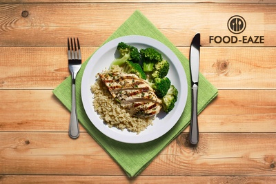 Herb Chicken Breast at Food-Eaze - Food Delivery Scarborough