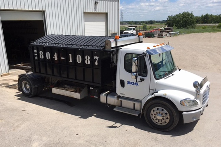 Waste Management Services by BOS Services Inc. - Waste Recycling Kitchener