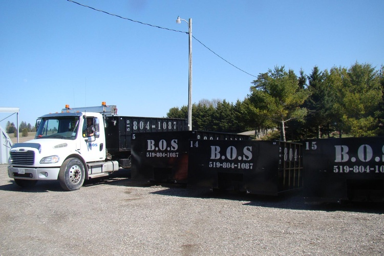 Custom Trucking by BOS Services Inc. - Commercial Waste Management Services Waterloo