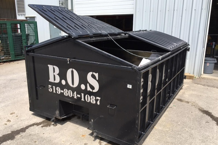 Commercial Waste Management by BOS Services Inc. - Commercial Garbage Bin Rental Kitchener